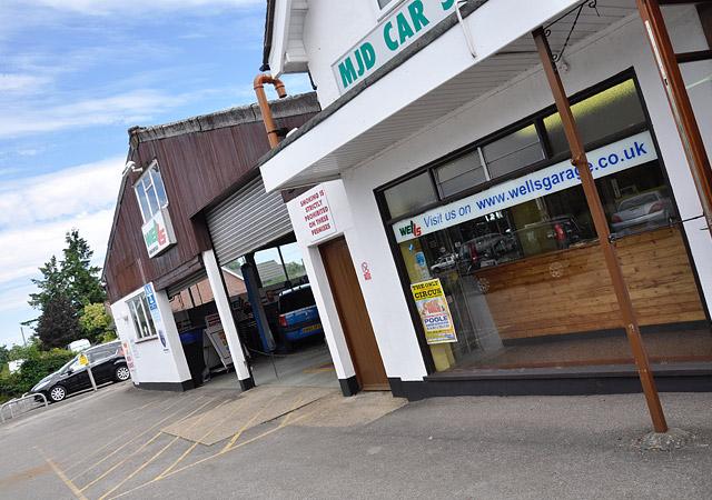 Wells Garage Ringwood