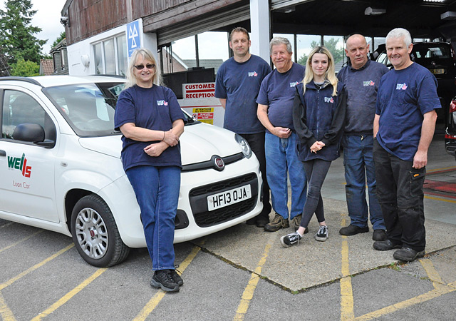 Wells Garage Team
