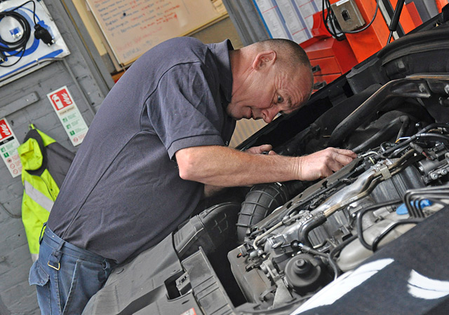 Wells Garage Tony Hemmings